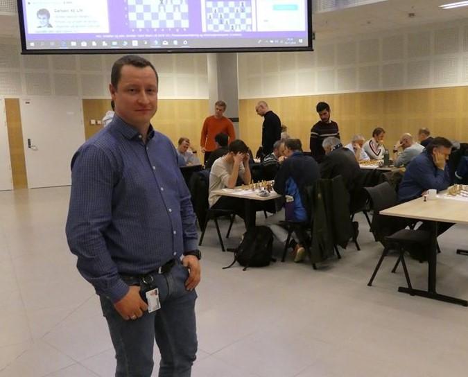 Bodø sjakklag har fått ny kretsdommer
